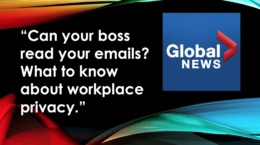 Workplace privacy - Can your boss read your emails - Natasha Tusikov